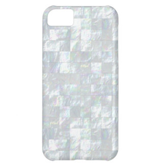Mother Of Pearl Mosaic iPhone 5C Case