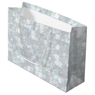 Mother Of Pearl Mosaic Large Gift Bag
