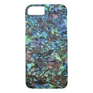 MOTHER OF PEARL PRINT Blue Green iPhone 7 Case