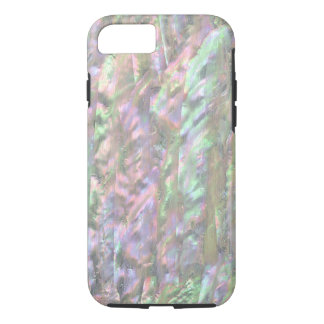 MOTHER OF PEARL PRINT Pink Green iPhone 7 Case