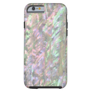 MOTHER OF PEARL PRINT Pink Green Tough iPhone 6 Case
