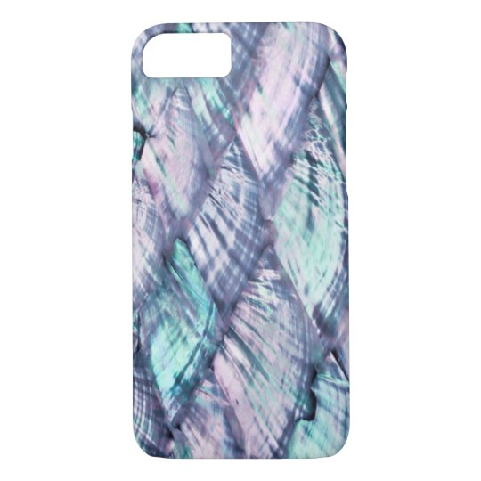 MOTHER OF PEARL Purple Print Barely There iPhone