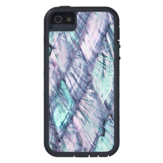MOTHER OF PEARL Purple Print Tough Xtreme iPhone 5 Case For The iPhone 5