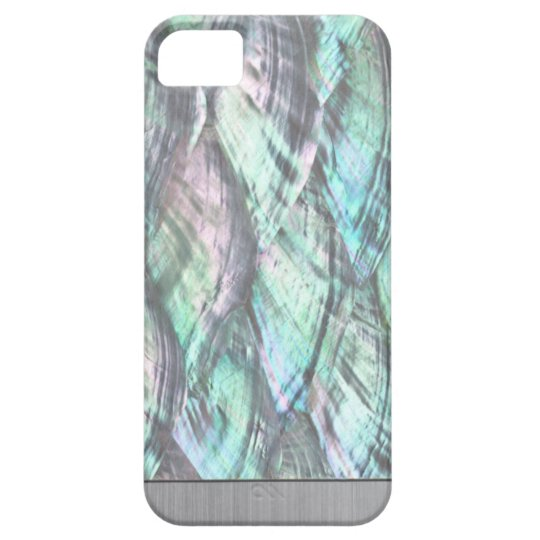 MOTHER OF PEARL Red Abalone Print iPhone 5/5S