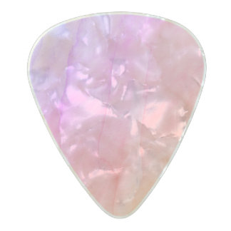 Mother of Pearl Shell Watercolor Stone Pearl Celluloid Guitar Pick
