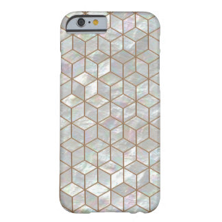 Mother Of Pearl Tiles Barely There iPhone 6 Case