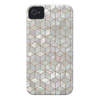Mother Of Pearl Tiles iPhone 4 Cover