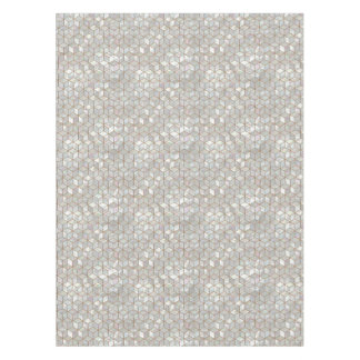 Mother Of Pearl Tiles Tablecloth