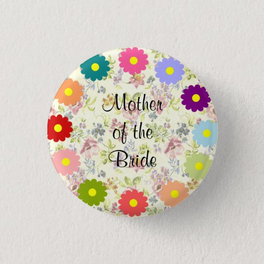 Mother of the Bride 3 Cm Round Badge