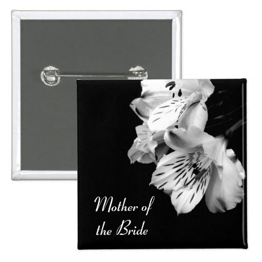 Mother of the Bride Alstroemeria Lily Button