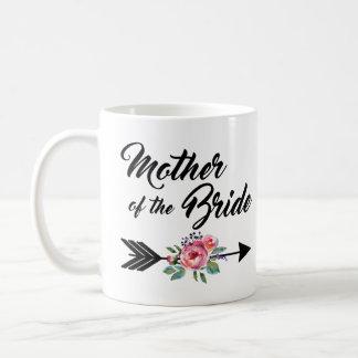 Mother of the Bride Arrow Coffee Mug