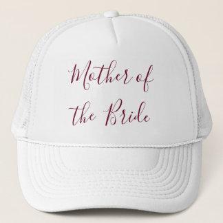 Mother of the Bride Beautiful Trucker Hat