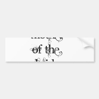 Mother of the Bride Car Bumper Sticker