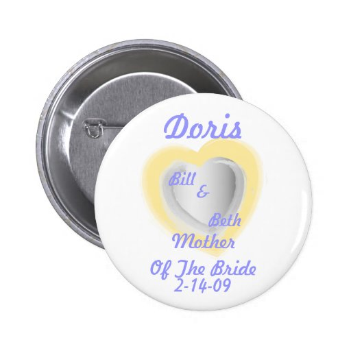 Mother Of The Bride Button-Customize