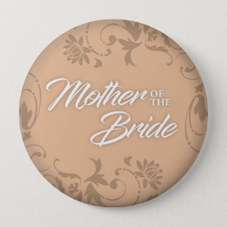 Mother of the Bride Button for Tote