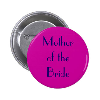 Mother of the Bride Button Fuchsia/Navy