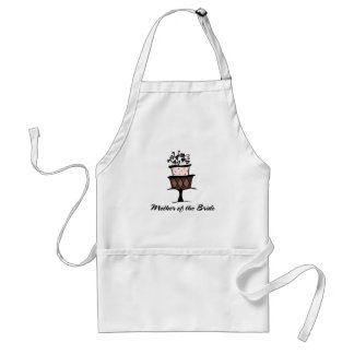 Mother of the Bride Cake Standard Apron