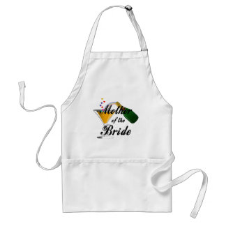 Mother Of The Bride Champagne Toast Adult Apron