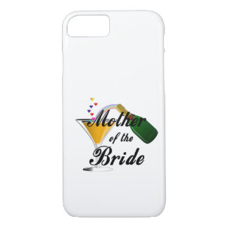 Mother Of The Bride Champagne Toast iPhone 7 Case