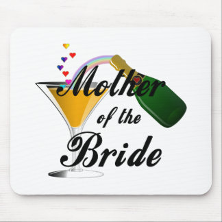 Mother Of The Bride Champagne Toast Mouse Pad