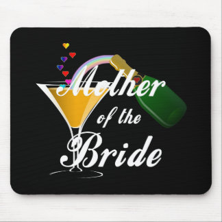 Mother Of The Bride Champagne Toast Mouse Pads