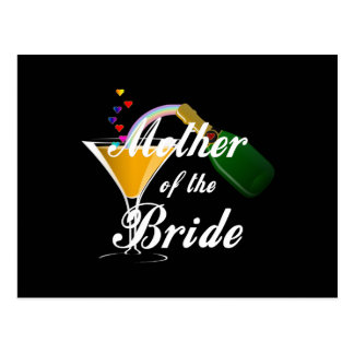 Mother Of The Bride Champagne Toast Post Card