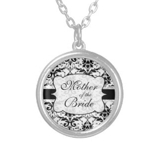 Mother of the Bride Damask Necklace