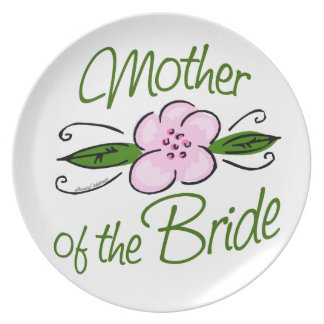 Mother of the Bride Dinner Plates