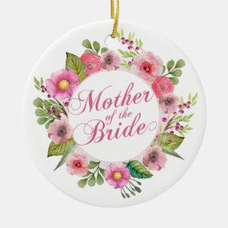 Mother of the Bride Elegant Wedding | Ornament