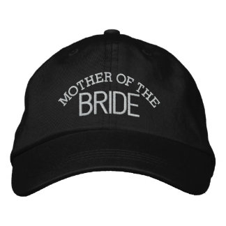 Mother of the BRIDE Embroidered Baseball Caps