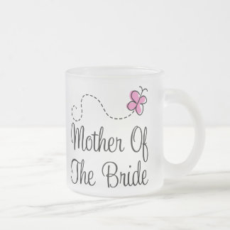 Mother Of The Bride Frosted Wedding Mug