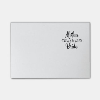 Mother of the Bride - Funny Rehearsal Dinner Post-it® Notes
