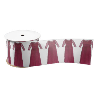 Mother of the Bride Groom Wedding Dress Ribbon Satin Ribbon