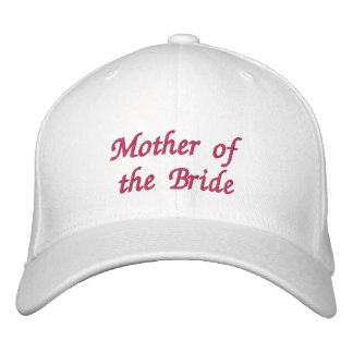 Mother of the Bride hat Baseball Cap
