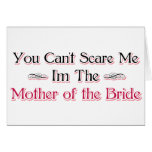 Mother of the Bride Humour Greeting Card