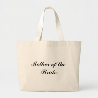Mother of the Bride Jumbo Tote Bag