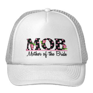 Mother of the Bride (MOD) Tulip Lettering Cap