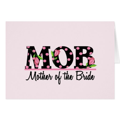 Mother of the Bride (MOD) Tulip Lettering Cards