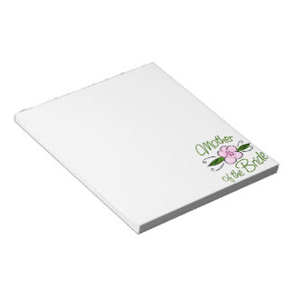 Mother of the Bride Notepad