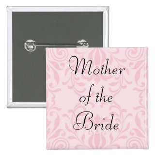 Mother of the Bride Pink Button