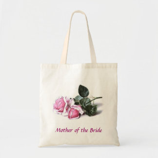 Mother of the Bride Pink Roses Bag