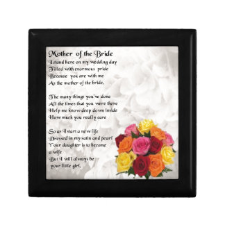 Mother of the Bride Poem  - Flowers Gift Box