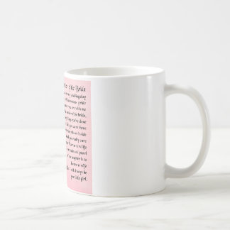 Mother of the Bride Poem -  Roses Coffee Mug