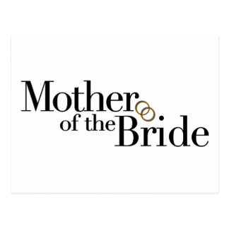 Mother Of The Bride Postcard