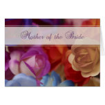 Mother of the Bride, Roses Card