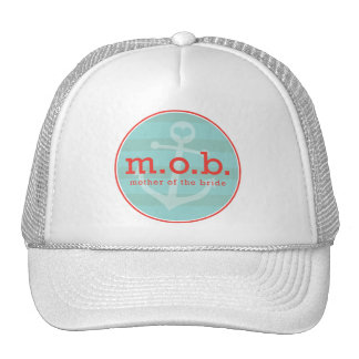 Mother of the Bride Sailor Mesh Hats