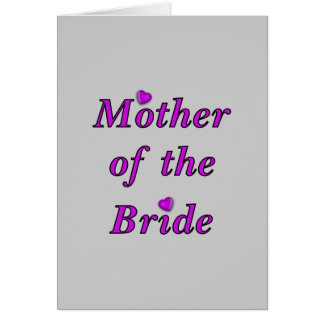 Mother of the Bride Simply Love Card