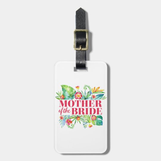 Mother of the Bride Tropical Destination Wedding Luggage
