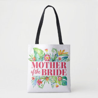 Mother of the Bride Tropical Destination Wedding Tote Bag