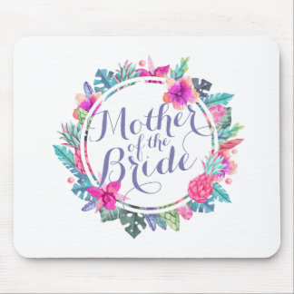Mother of the Bride Tropical Wedding | Mousepad